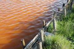 Lago rojo 5 Foto de archivo