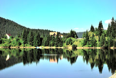 Lago Romania Belis fotografia stock libera da diritti