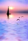 Lago rosa van Gr royalty-vrije stock foto