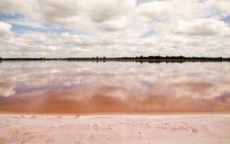 Lago rosado Foto de archivo libre de regalías