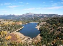 Lago rosso, California Immagine Stock Libera da Diritti