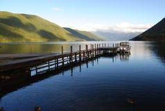 Lago Rotoiti Fotografía de archivo libre de regalías