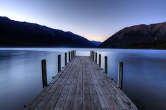 Lago Rotoiti, Nova Zelândia Imagem de Stock Royalty Free