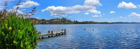 Lago Rotoiti, Nueva Zelanda fotografía de archivo libre de regalías