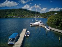 Lago Rotoiti, NZ Fotos de Stock Royalty Free