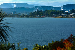 Lago Rotorua - Nova Zelândia Fotografia de Stock Royalty Free