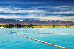 Lago Ruataniwha, Nova Zelândia Imagem de Stock