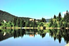 Lago Rumania Belis Fotografía de archivo libre de regalías