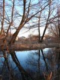 Lago rural Imágenes de archivo libres de regalías