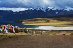 Lago sagrado Imágenes de archivo libres de regalías