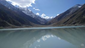 lago Saif-UL-muluk fotografia stock libera da diritti