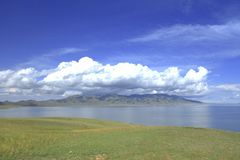 Lago Sailimu Immagini Stock