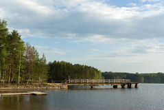 Lago Saimaa Fotos de archivo libres de regalías