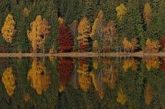 Lago saint Anne en el otoño 3 Fotografía de archivo libre de regalías