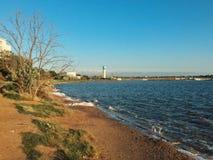 Lago Saki Immagini Stock