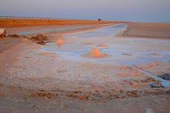 Lago salt Imágenes de archivo libres de regalías