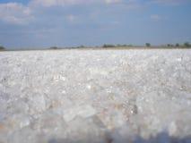 Lago salt Fotografia de Stock