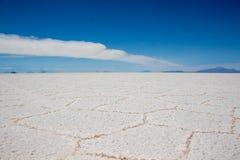 Lago salt Bolívia imagem de stock