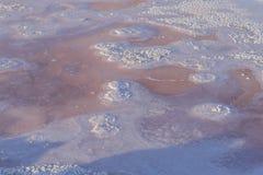 Lago salt em sahara tunísia Imagens de Stock
