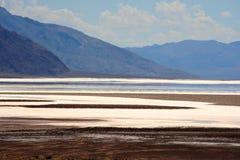Lago salt en los E.E.U.U. Imagenes de archivo
