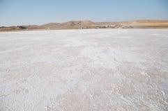 Lago salt in Turchia Immagine Stock