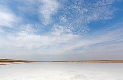 Lago saltwater immagine stock