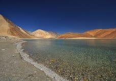 Lago saltwater fotografie stock