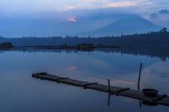 Lago Sampaloc Imagem de Stock Royalty Free
