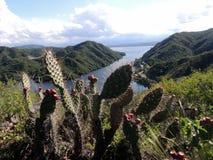 Lago San Roque. Vista parcial del lago con vista hacia el oeste royalty free stock photo
