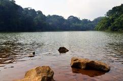 Lago Sangiang Foto de archivo libre de regalías