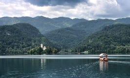 Lago sangrado Imagen de archivo libre de regalías