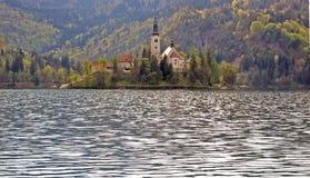 Lago sangrado Imagem de Stock Royalty Free