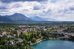 Lago sangrado, Eslovênia, Europa Foto de Stock Royalty Free