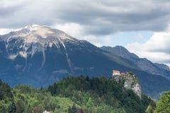 Lago sangrado, Eslovênia, Europa Imagem de Stock