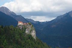 Lago sangrado, Eslovênia, Europa Fotos de Stock Royalty Free