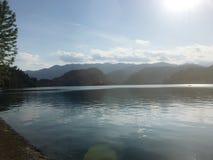 Lago sangrado, Eslovenia Imagenes de archivo