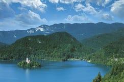 Lago sanguinato Fotografia Stock