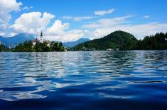 Lago sanguinato Immagine Stock Libera da Diritti