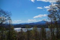 Lago Santeetlah Immagine Stock