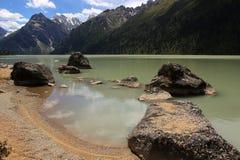 Lago santo Xinluhai Fotografie Stock Libere da Diritti