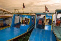 Lago sap di Tonle Fotografie Stock Libere da Diritti