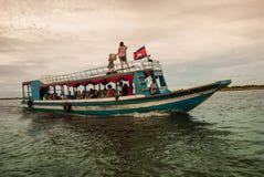 Lago sap di Tonle Fotografia Stock Libera da Diritti