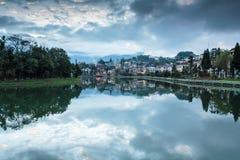Lago Sappa, Vietnam Foto de archivo