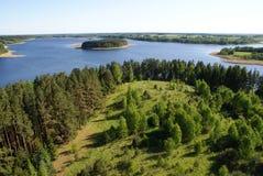 Lago Sartai Foto de archivo