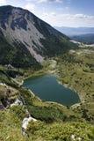 Lago Satorsko - nas regiões ocidentais de Bósnia Foto de Stock