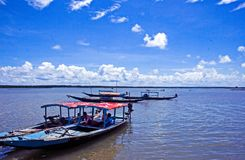 Lago Satpada en Odisha Fotos de archivo libres de regalías