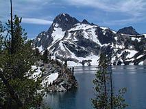 Lago 10 sawtooth Fotografía de archivo libre de regalías