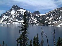 Lago 5 sawtooth Imágenes de archivo libres de regalías