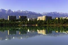 Lago Sayran Imagens de Stock Royalty Free