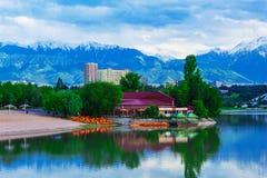 Lago Sayran Imagem de Stock